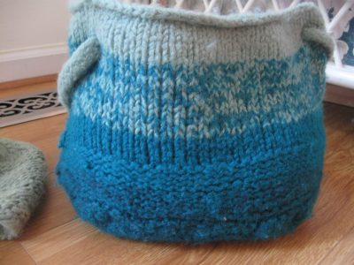 Felted Knit Bag