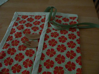 This Week's Sewing Project – Picnic Placement with Bias-Bound Edges