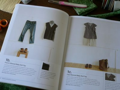 Learning to Sew – Working From  a Pattern