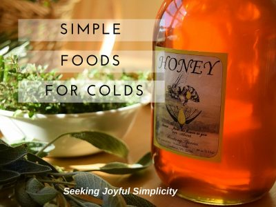 Simple Foods For Cold and Flu – Sage, Ginger, Garlic and Honey