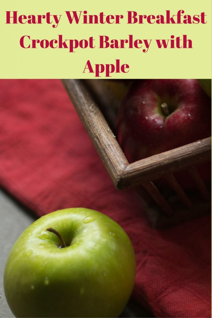 If we have to drag ourselves from bed on a cold and dark winter morning, wouldn't it be nice to rise to the smell of apples and cinnamon? Entering the kitchen with a wholesome, healthy, tasty meal all ready to warm and energize you for the day ahead? This might be the recipe for you. Simply toss everything into the Crockpot the night before and wake up to a delicious and nourishing breakfast.