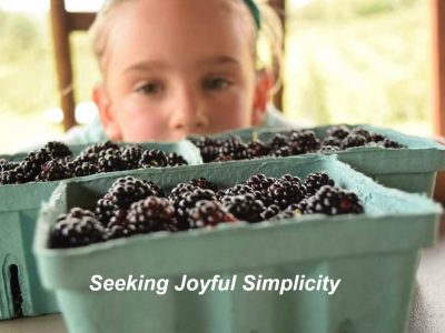Blackberry Season and Five Easy Recipes