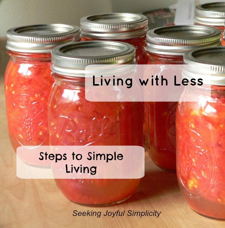 Do you dream of living a slower, simpler life. I share my journey from chaos to peace and offer steps to help you live the simple life.
