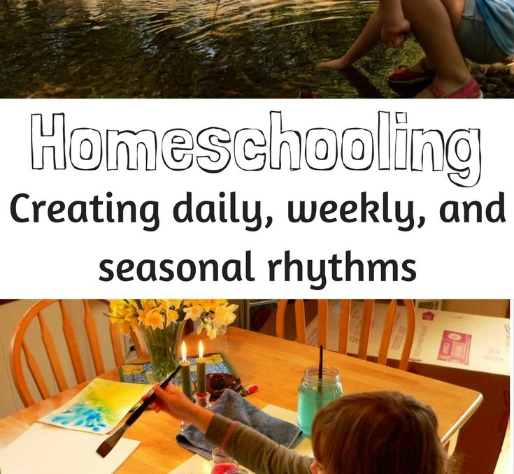 Homeschooling changes everything. Somehow, in the two years I was away from home education, I forgot just how much it changes our lives. Homeschooling creates a unique rhythm, and this rhythm guides us through our days. Most of the time, these days include mutual respect, a joy for learning, and plenty of room for creative exploration and imaginative play.