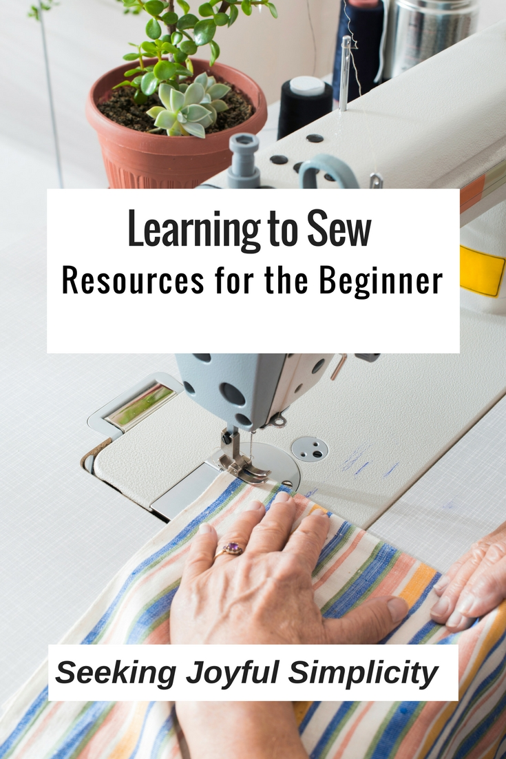 There is nothing more rewarding than learning to sew beautiful and useful things for yourself, your home, family, and friends. I taught myself to sew using books and video tutorials, and you can too! Here are my favorite resources for sewing information and inspiration!