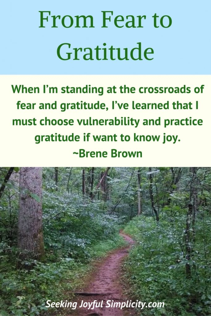 We all feel fear and overwhelm and at times it can feel crippling. Gratitude is one of the sweet shortcuts to finding peace of mind and happiness inside. No matter what is going on outside of us, there's always something we could be grateful for. - Barry Neil Kaufman