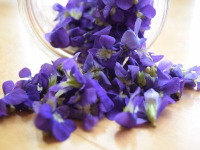How to Make Violet Syrup