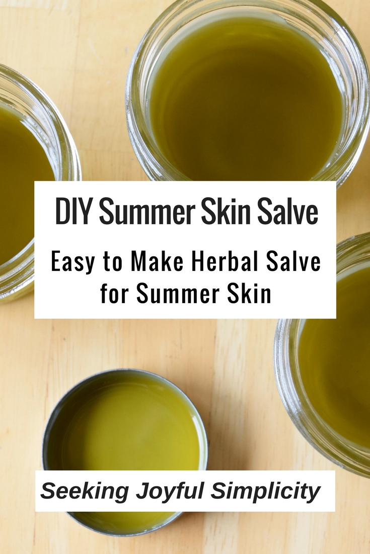 Insect bites, bee stings, sunburn relief. Only four ingredients and using easy-to-find herbs like plantain and dandelion, you can make your own highly effective, all-natural DIY skin salve