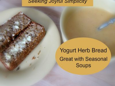 Soaked Grain Yogurt Herb Bread