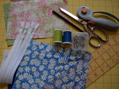 Learning how to sew a zippered bag is a great way to create something practical and pretty. The creative possibilities are endless with this easy zippered pouch tutorial!