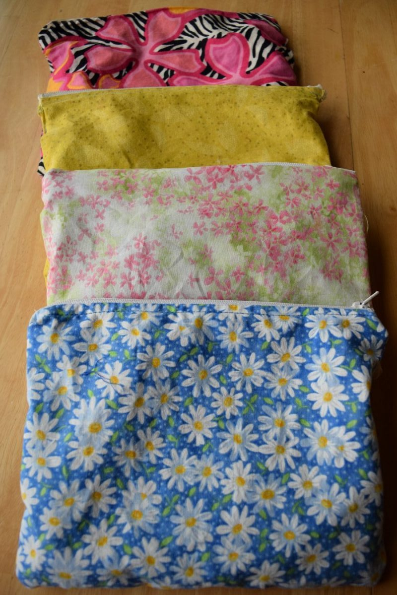 Easy sewing project learn how to sew a zippered bag
