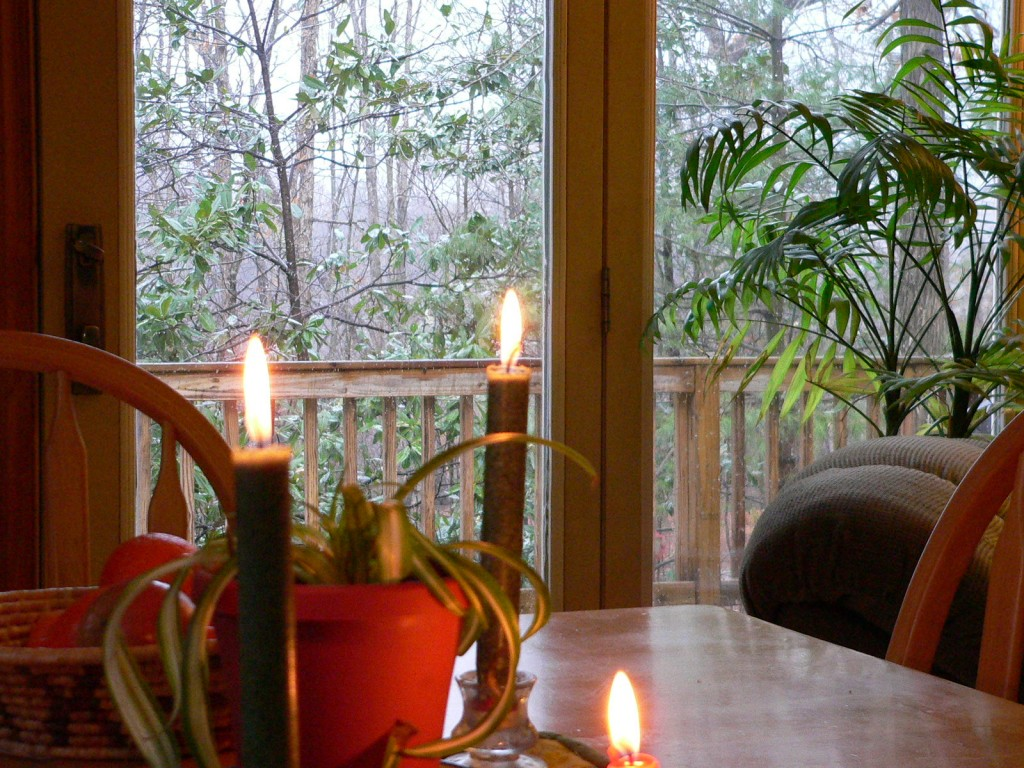 Beating the winter blues with candlelight