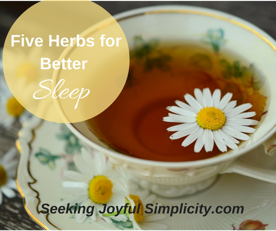 5 Herbs for Better Sleep