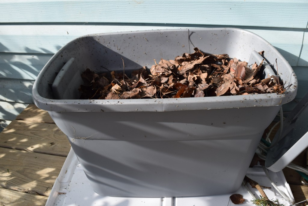 Composting with worms is a great way to turn kitchen scraps into garden soil. An easy DIY worm bin to get started with vermicomposting.