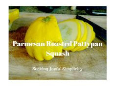 Parmesan Roasted Pattypan Squash