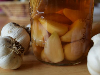 Easy Fermented Garlic and 5 Recipes