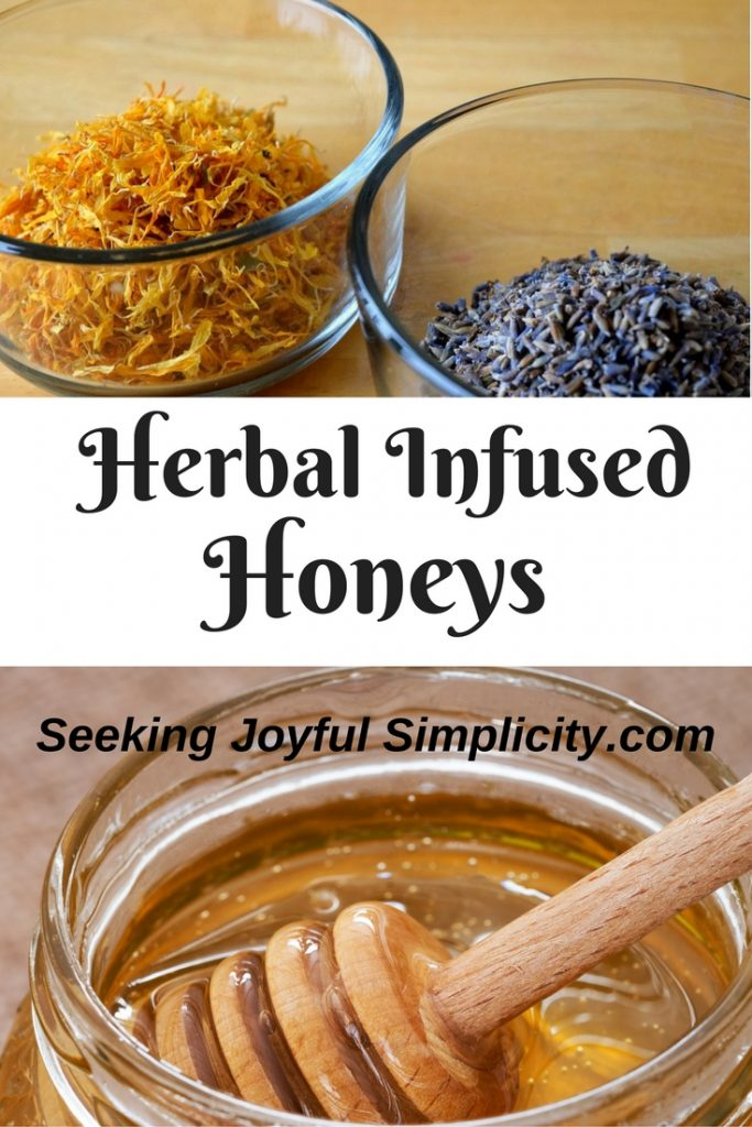 Sweet, delicious honey. Combining herbs with honey is a delightful way to enjoy herbal medicine. Making your own herbal infused honey is easy and the creative possibilities are endless. Using raw honey, we can preserve the flavor, aroma, and medicinal properties of herbs. What to do with herbal honeys? How about - drizzled on fresh bread, added to teas, taken by the spoonful for medicine, used in baked goods for added flavor, drizzled on yogurt, added to, granola, topping for ice-cream, given as gifts.