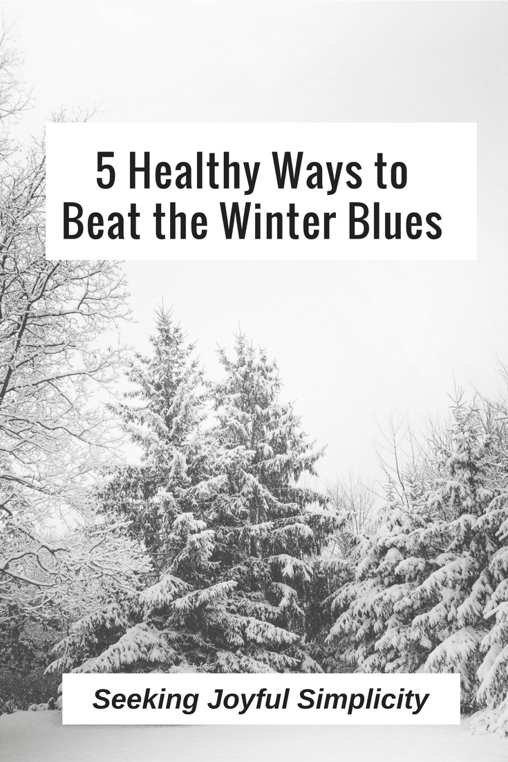 Instead of suffering another year with the winter blues, and trying to find relief through caffeine, sugar, and comfort foods, let's make a promise to take better care of ourselves. These five ways to beat the winter blues won't magically make you happy, but they will help you enjoy better health and a better mood this winter.