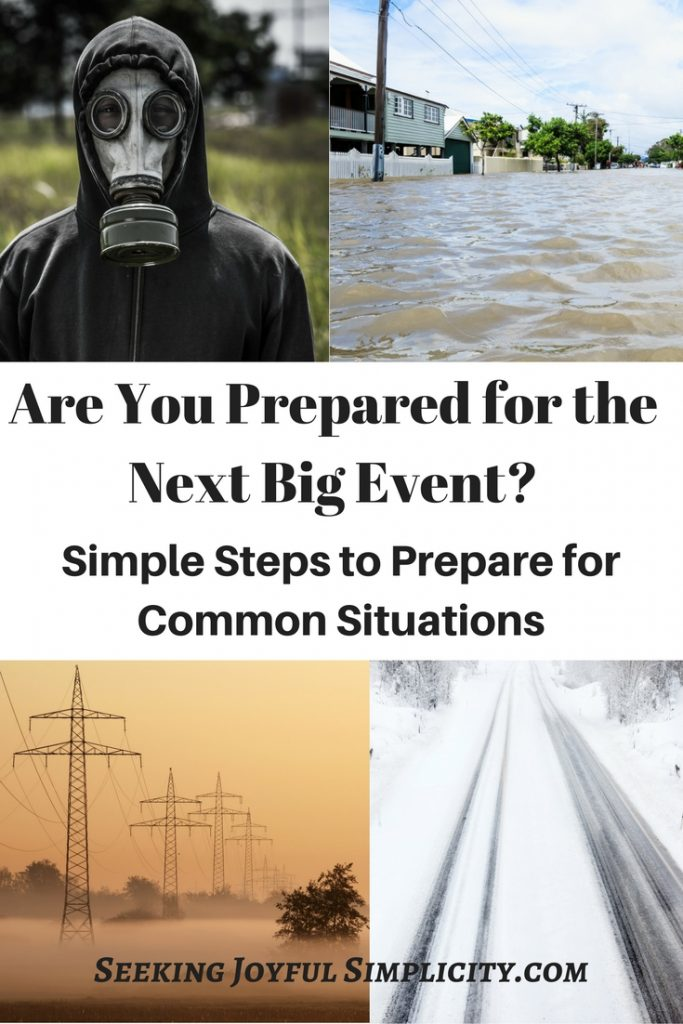 Prepping for beginners - what do we need to be prepared for, how to start prepping, and how do we keep it simple? Prepping used to be considered a radical activity, but more and more we are realizing the need to be prepared for all kinds of emergency situations.