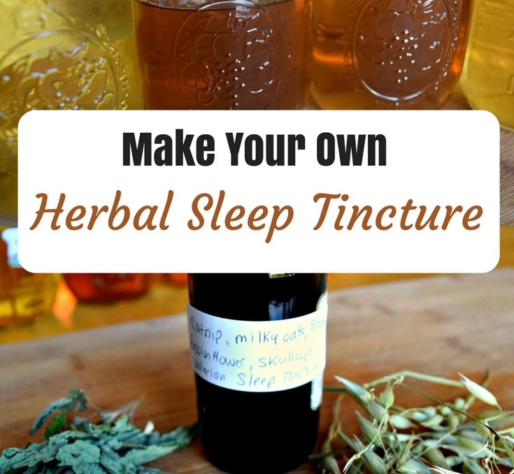 I enjoy using tinctures because they work quickly, are convenient, easy to use, and they last a long time. Making your own tinctures is really quite easy once you get started, and ordering dried herbs in bulk means you can save money as you build your home apothecary. This homemade herbal sleep tincture recipe is a wonderful way to quiet a busy mind, unwind from stress, and enjoy peaceful sleep.