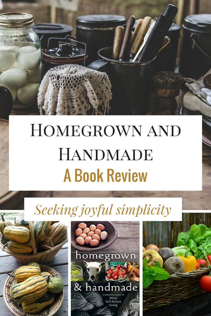 handmade review weekend book review homegrown and handmade a practical 3790