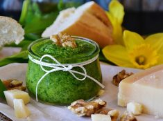 We can take advantage of the early spring weeds to make nourishing, healing foods. Chickweed is a great-tasting weed that offers plenty of flavor and nutrition. Making chickweed pesto is a great way to enjoy this early spring weed.
