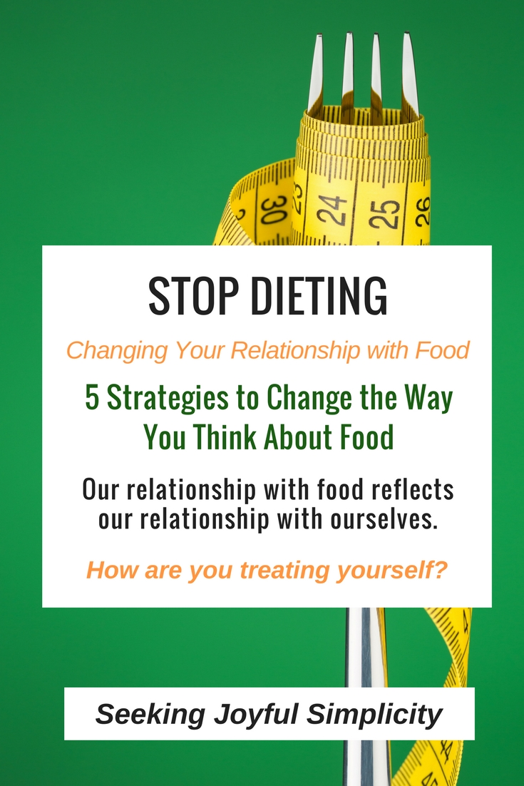 Changing our relationship to food and developing a holistic approach to eating. The foods we're eating are completely secondary to the way we actually feel about ourselves.