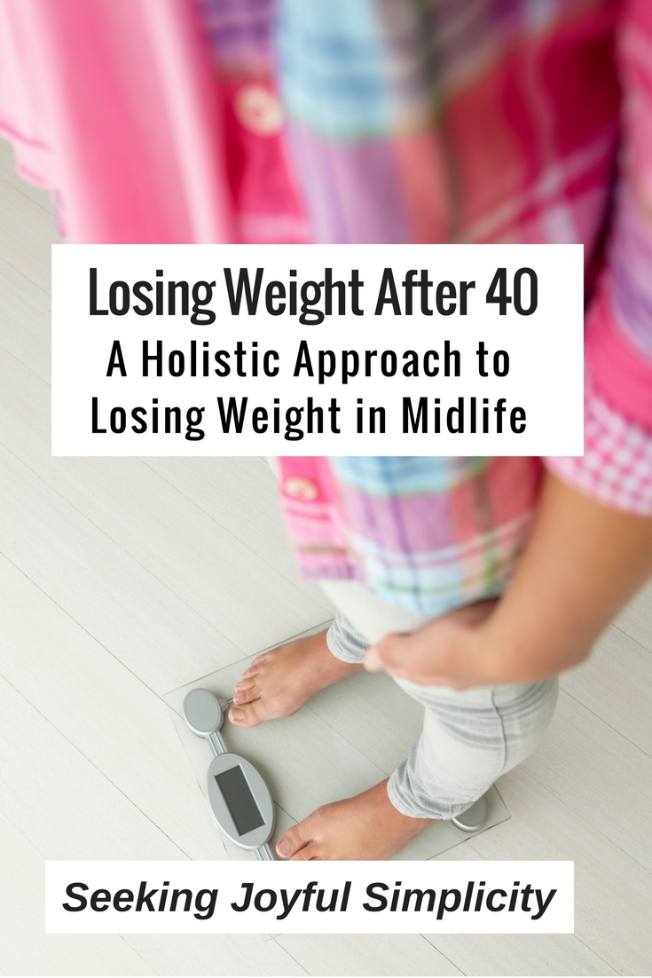 Losing weight after forty is more than simply eating less and exercising more. Using a holistic approach to weight loss, we can balance our energy, our hormones, feel better, and enjoy a healthier weight.