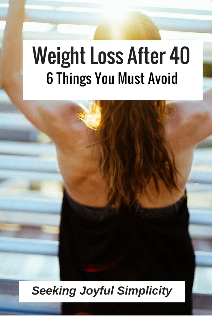 Are you fighting a losing battle against hormones, a slowing metabolism, and difficulty maintaining your weight? New challenges require a new approach, and here are 6 things to avoid when you are trying to lose weight after 40.
