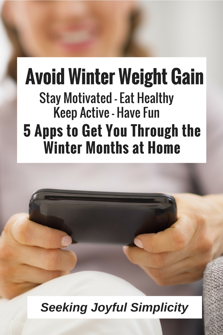 If you want to avoid gaining weight again this winter, check out these five apps to get you through the winter months at home. They're easy to use and a fun way to stay healthy!