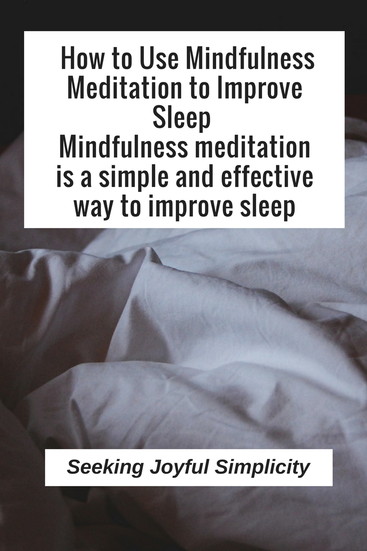 Mindfulness meditation for sleep is one of the best ways to deal with your sleep issues and it is also an easy method as it does not require any special skills.