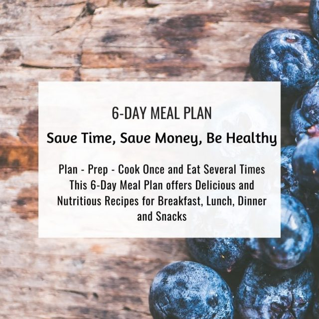 6-Day Meal Plan