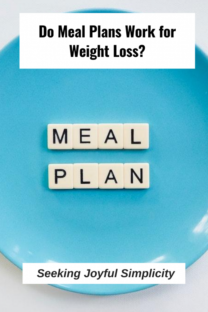 "Are you trying to lose weight following a meal plan? They rarely work long-term and you find yourself in the ""all-or-nothing"" mindset. So you start eating garbage with thoughts like, ""Well, I blew it, so I might as well just eat whatever. I'll get back to my meal plan tomorrow, or Monday, or next week."" Instead of following a meal plan, try this instead...."